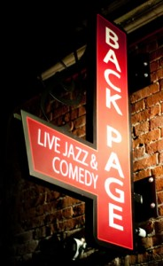 Back Page Jazz & Comedy Club